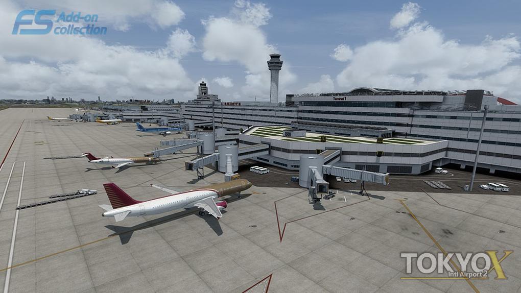 Download Scenery Technobrain Tokyo Int  Airport (RJTT) #FSX