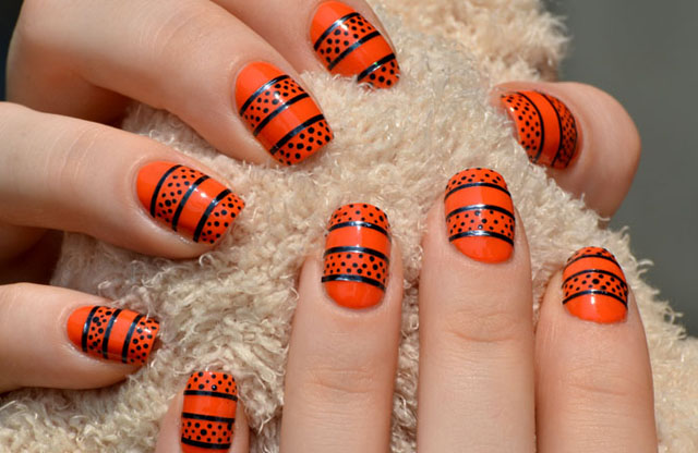 unhas e unhas Halloween Nail Art