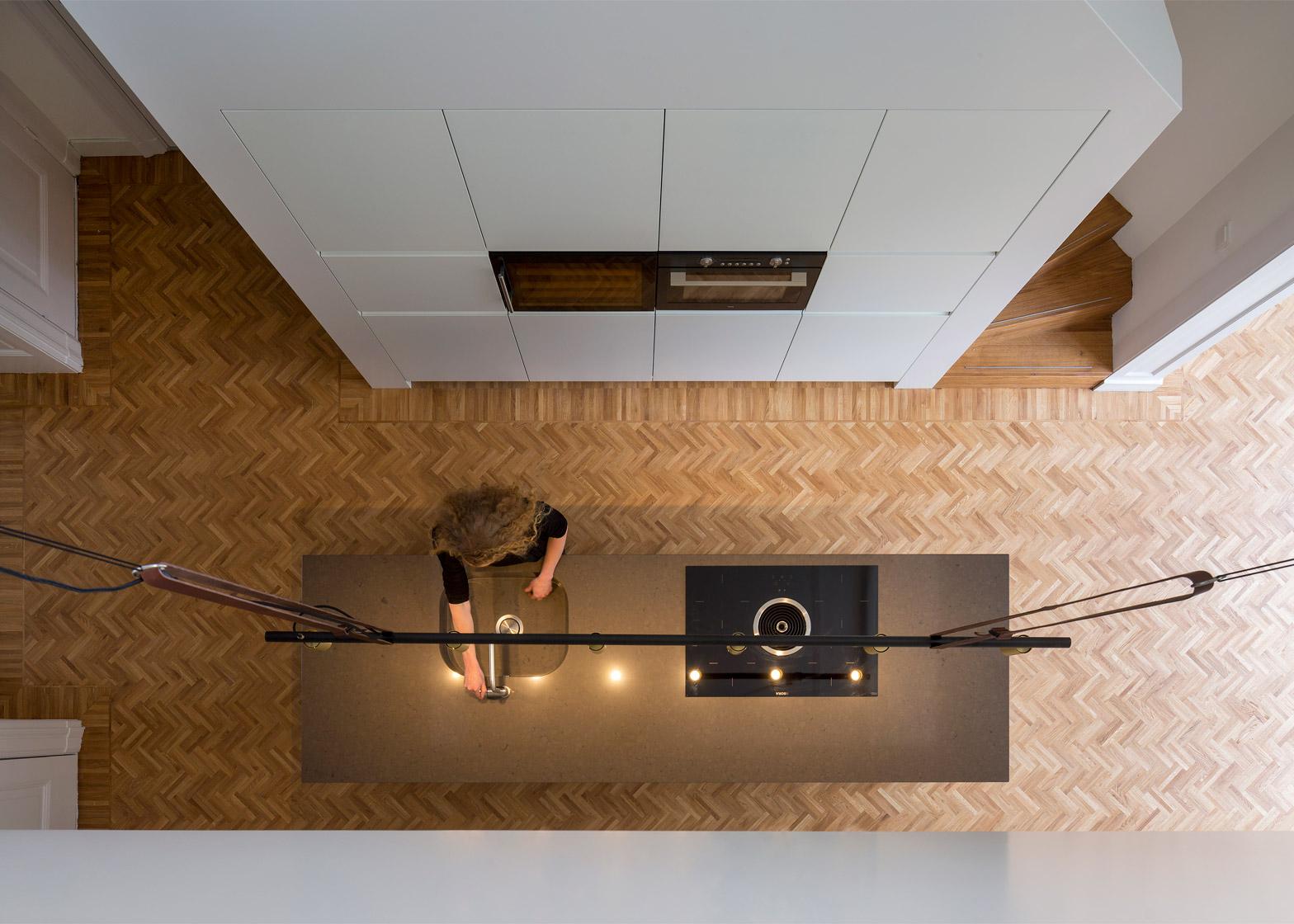 Casa con parquet a spina di pesce in olanda by antonia reif arc art blog by daniele drigo - Casa con parquet ...