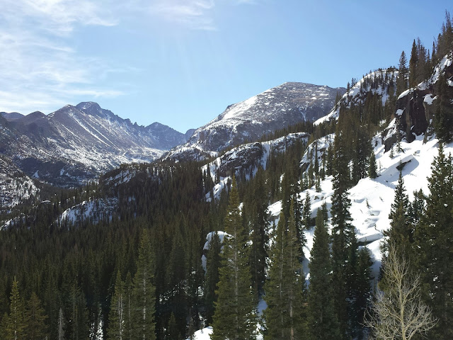 Rocky Mountain National Park in the winter