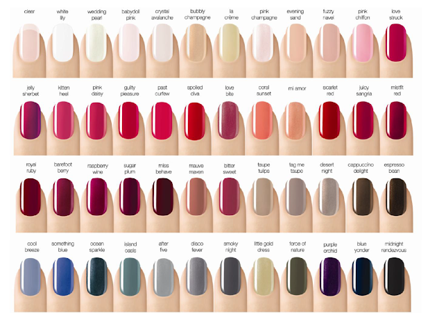 sensationail's 2013 nail color