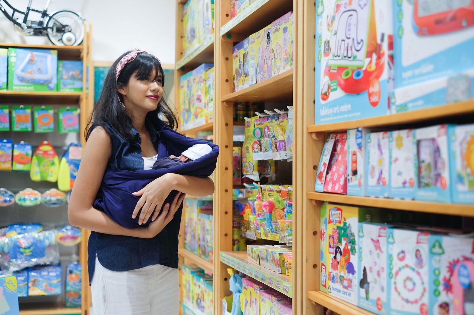Review Gendongan Bayi Productive Mamas Blog
