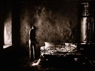 Habitación del protagonista en Stalker de Tarkovsky