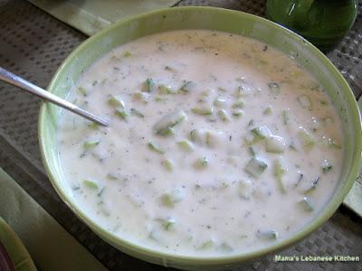 Refreshing Cucumber Yogurt Dip Recipe – Khiyar Bi Laban