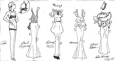 Mostly Paper Dolls: August 2011