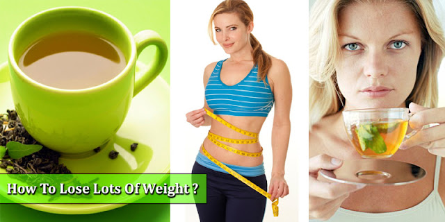 How To Lose Lots Of Weight By Drinking Green Tea!