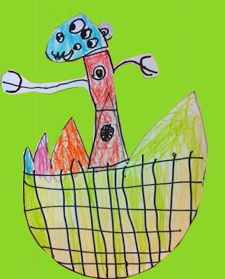 art sub lessons kindergarten art lesson monsters