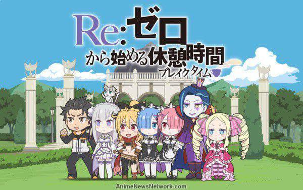 Re:ZERO ~Starting Break Time From Zero~ - Best Chibi Anime Shows list