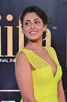 Madhu Shalini Looks Super Cute in Neon Green Deep Neck Dress at IIFA Utsavam Awards 2017  Day 2  Exclusive (7).JPG