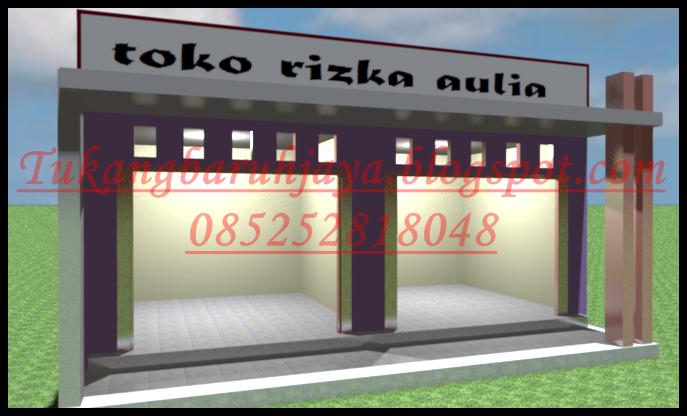 Desain Tukang Di Baruh Jaya Desain Toko Minimalis 3
