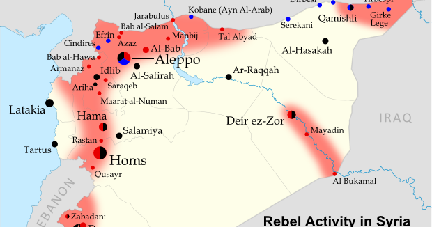 Syria Uprising Map: October 2012 (#7) - Political Geography Now on map of syria homs, map of syria raqqa, map of syria damascus, map of syria deraa, map of syria idlib, map of syria palmyra, map of syria latakia,
