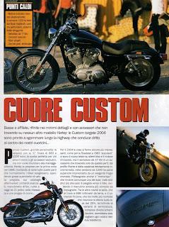 sportster custom 2004 articolo