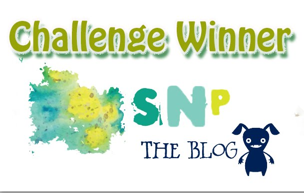 Winner at Scraps n Pieces Blog January Challenge