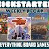 Kickstarter Recap - November 23, 2018