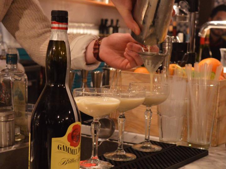 Gammel Dansk cocktail competition in Stockholm