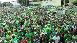 Multitudinaria Marcha Verde pide sometimiento del presidente Medina por caso Odebrecht