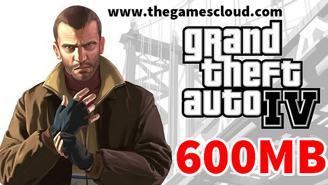 GTA 4 Highly Compressed PC Game Free Download in 600MB Parts