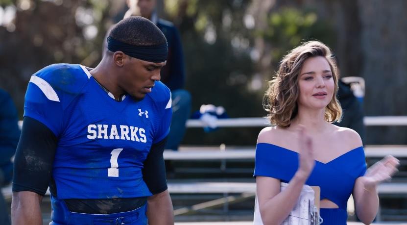 712b605d008 Cam Newton and Miranda Kerr Star In Buick s 2017 Super Bowl Commercial