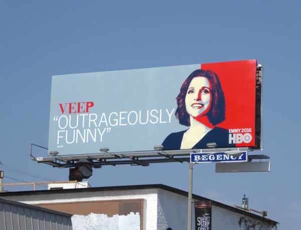 Veep 2016 Emmy FYC billboard