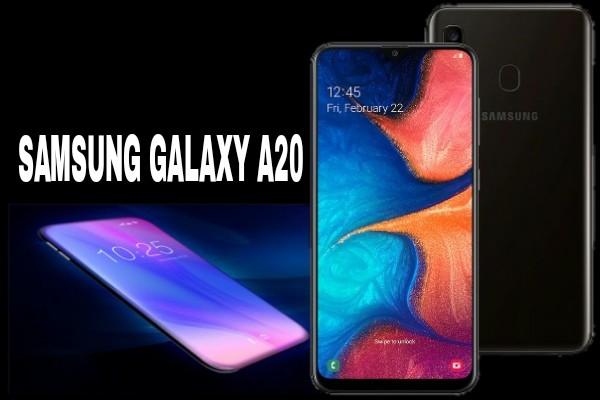 Samsung Galaxy A20 Smartphone Terbaru Dengan Spesifikasi Terbaik