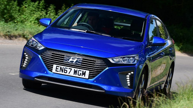 The Hyundai Ioniq Plug-in hybrid has cut charging times
