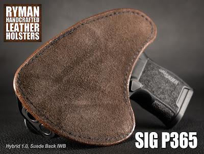 Sig P365 in Ryman Holsters' Hybrid 1.0 IWB Holster