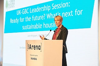 Julie Hirigoyen, chief executive of the UK Green Building Council