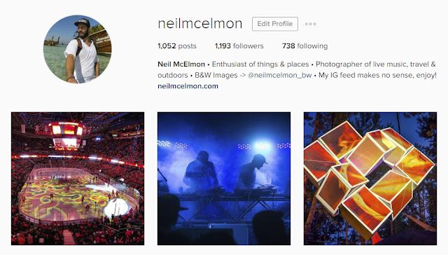 Follow @neilmcelmon on Instagram