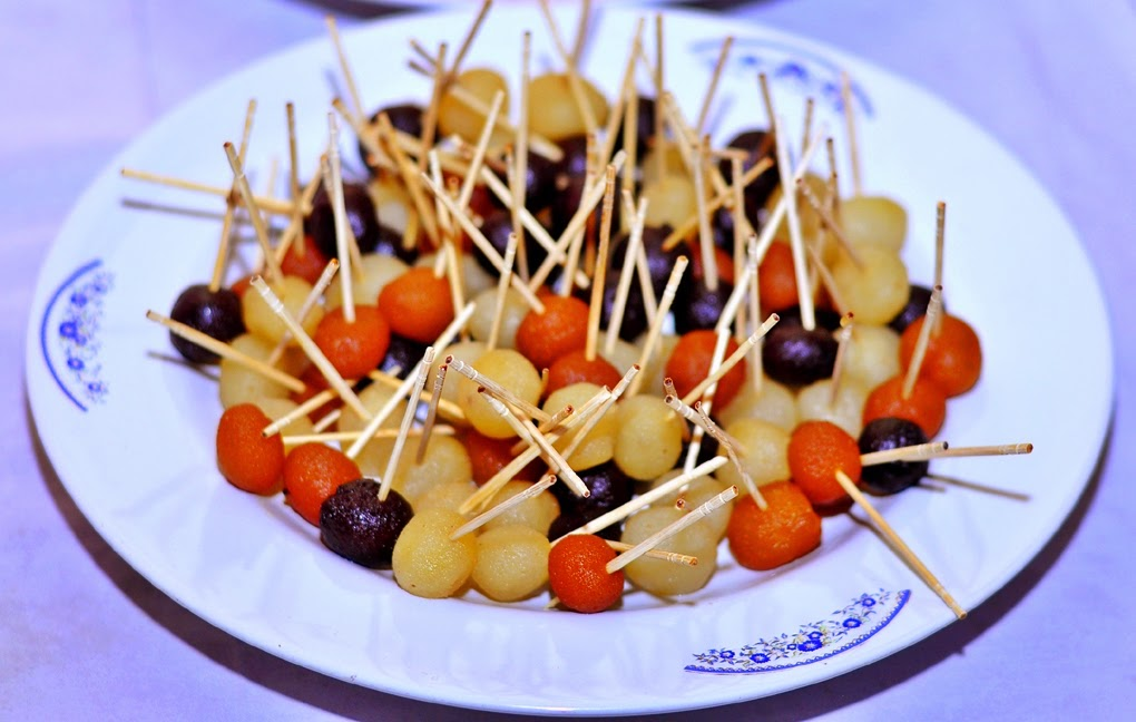 Wedding Snaps Gaye Holud Fruit Decoration