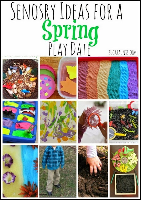 ideas for a spring play date for kids