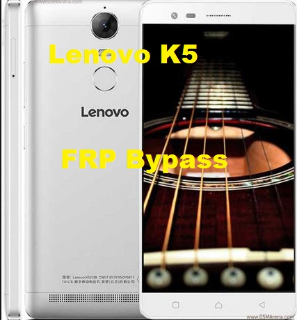 Lenovo K5 Note K52 google account reset and FRP bypass