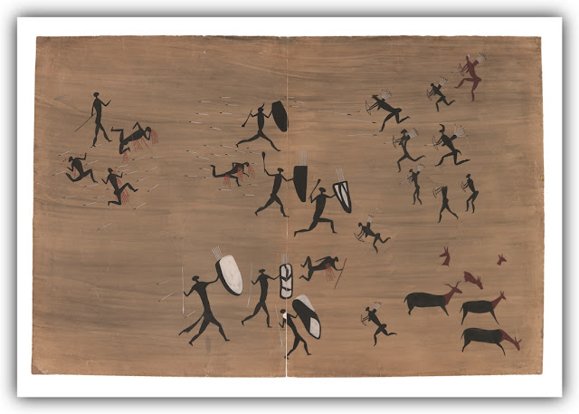 Pictograph of Tribal War