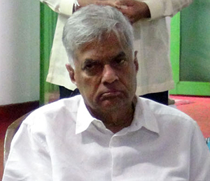 """We won't let anybody engage in bond scams!"" -- Prime Minister Ranil"