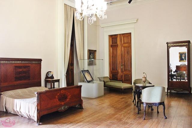 Quarto de Getúlio Vargas no Museu da República