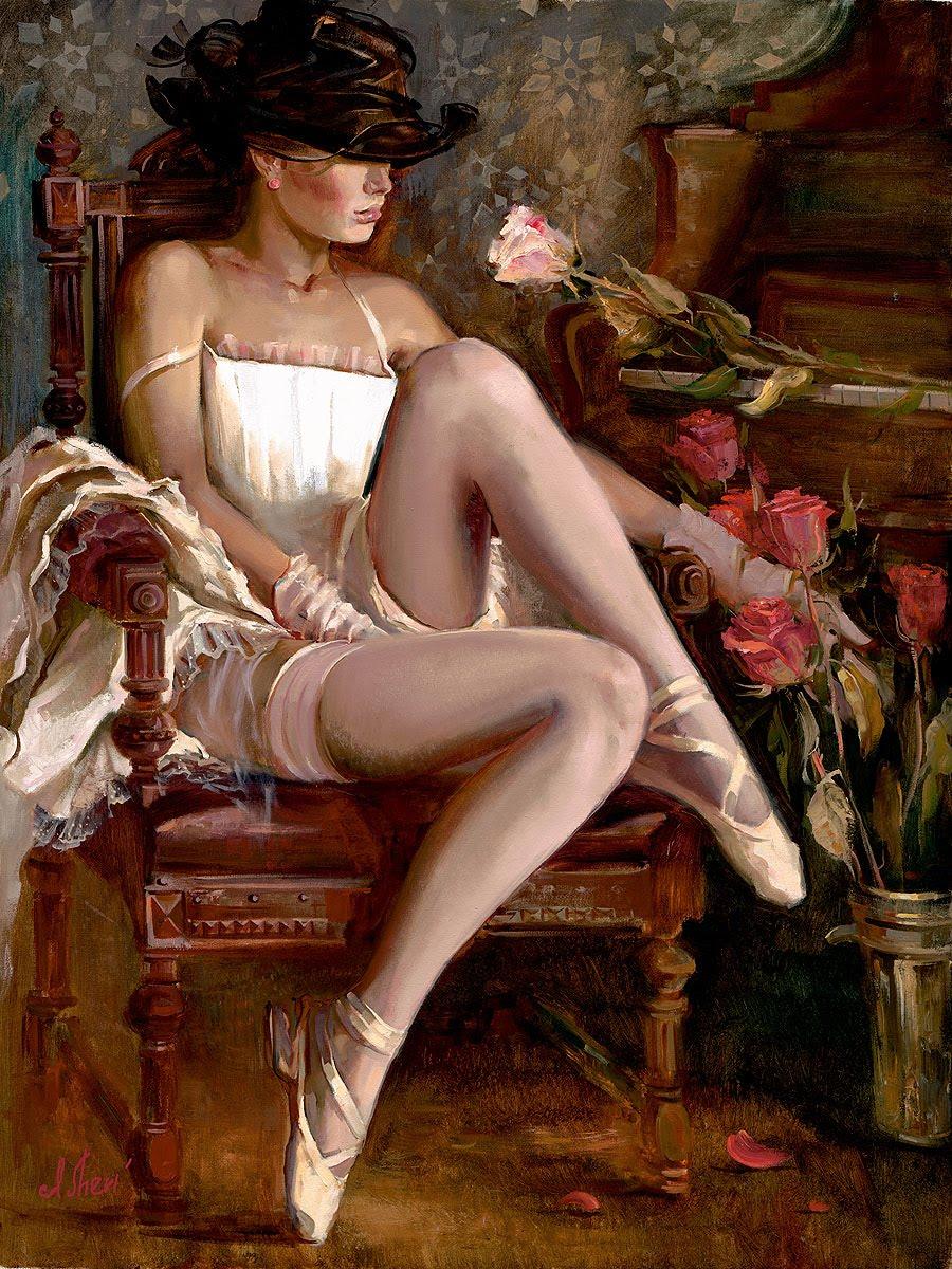 "Ukrainian Artist- ""Irene Sheri"" 1968"