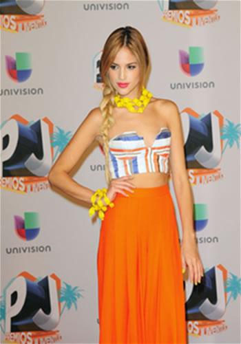 Eisa Gonzalez en evento de PJ de Univision
