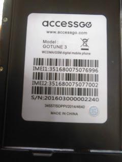 Firmware Acessgo Gotune3