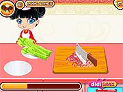 لعبة طبخ فطائر باللحم