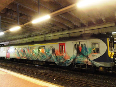 discover the unknown shapes on trains