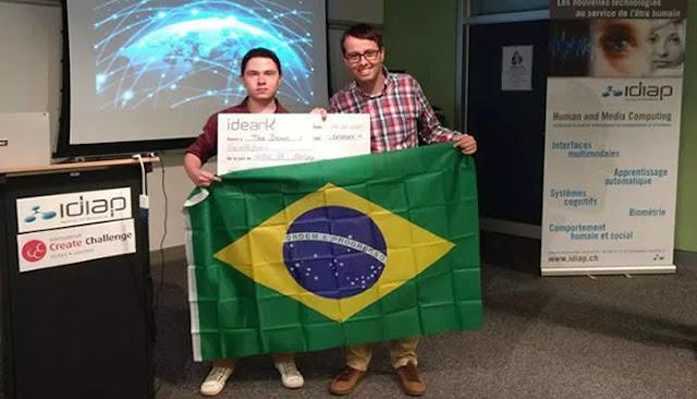 Pela 1º vez, brasileiros vencem a Olimpíada Internacional de Tecnologia e Inovação.