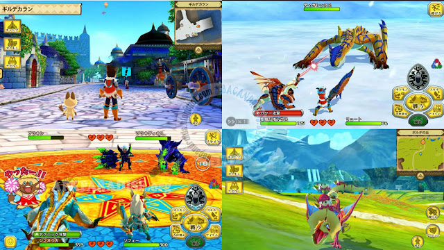 monster hunter stories Apk Data 1.0.6 Android Full Stories