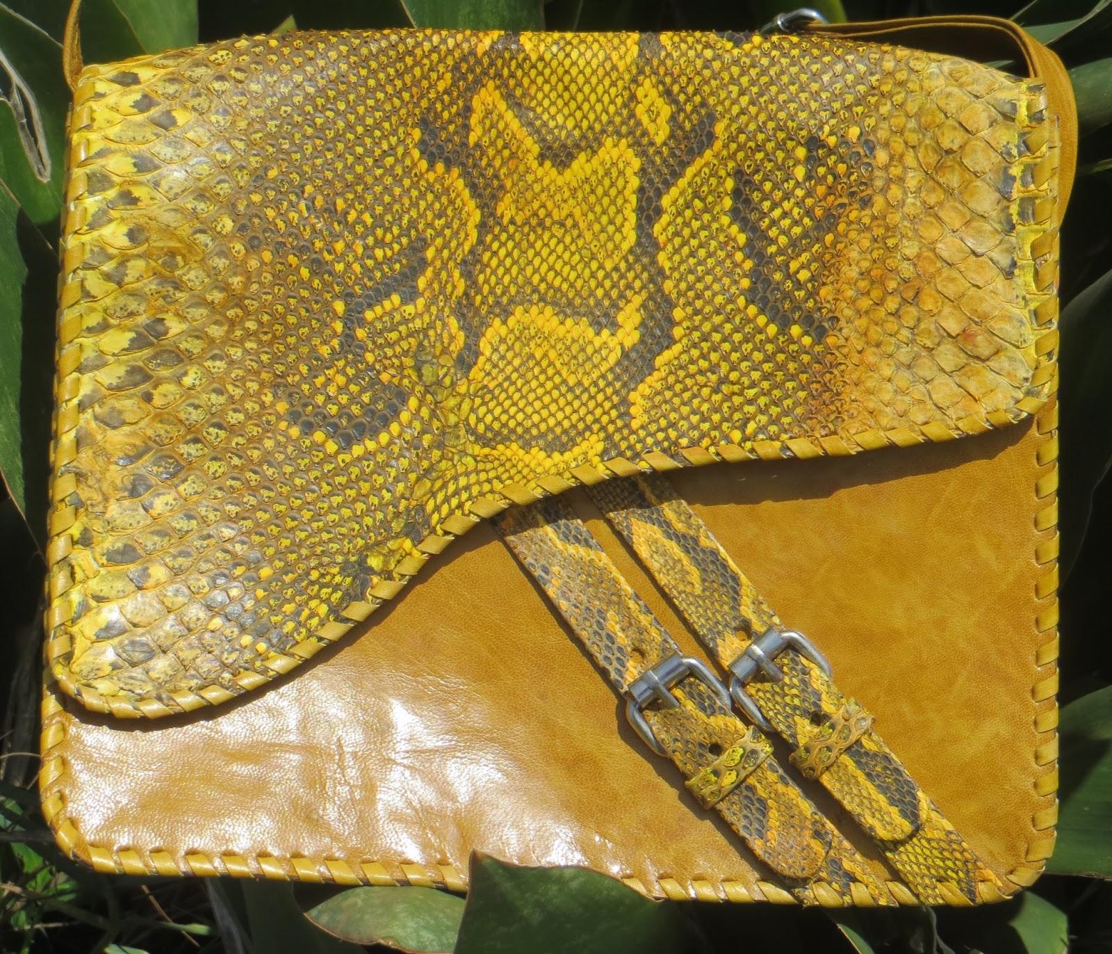 Gola Snakeskin Crossbody Bag