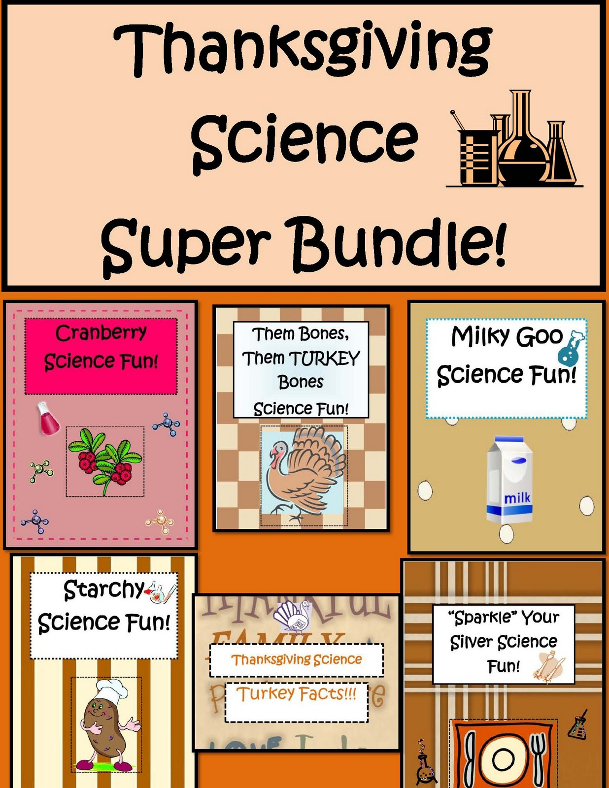 Little Miss Middle School Thanksgiving Science Activities