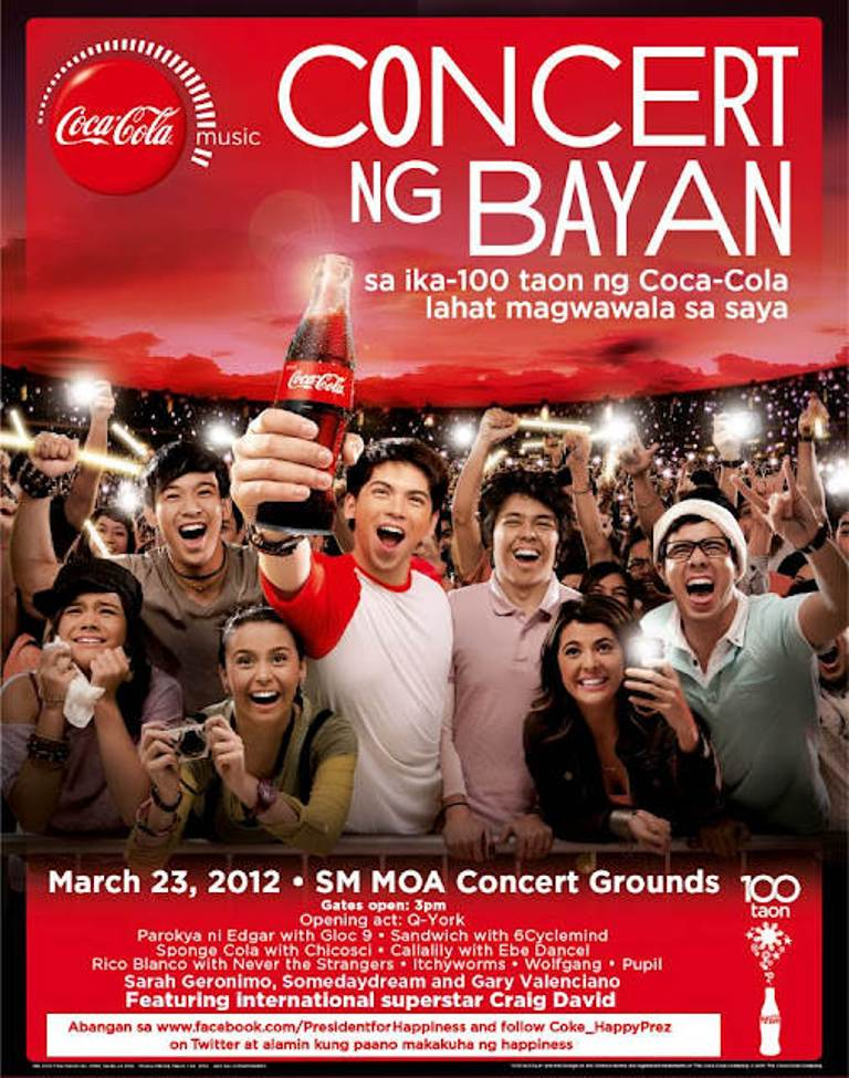 The Happiness from Coca-Cola Philippines' Concert ng Bayan - Recycle