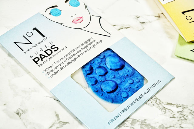 Number One For Your Beauty Augenpads Feuchtigkeitsspendend