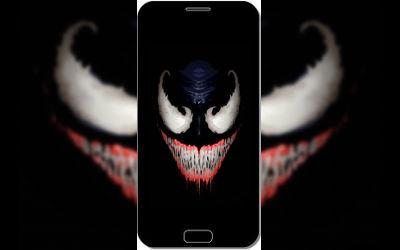 Venom Black Marvel Comics - Fond d'Écran en QHD pour Mobile