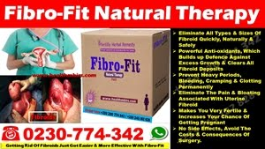 GETTING RID OF FIBROIDS JUST GOT EASIER AND MORE EFFECTIVE WITH FIBROFIT PACK