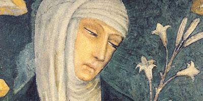 imagem de Santa Catarina de Sena