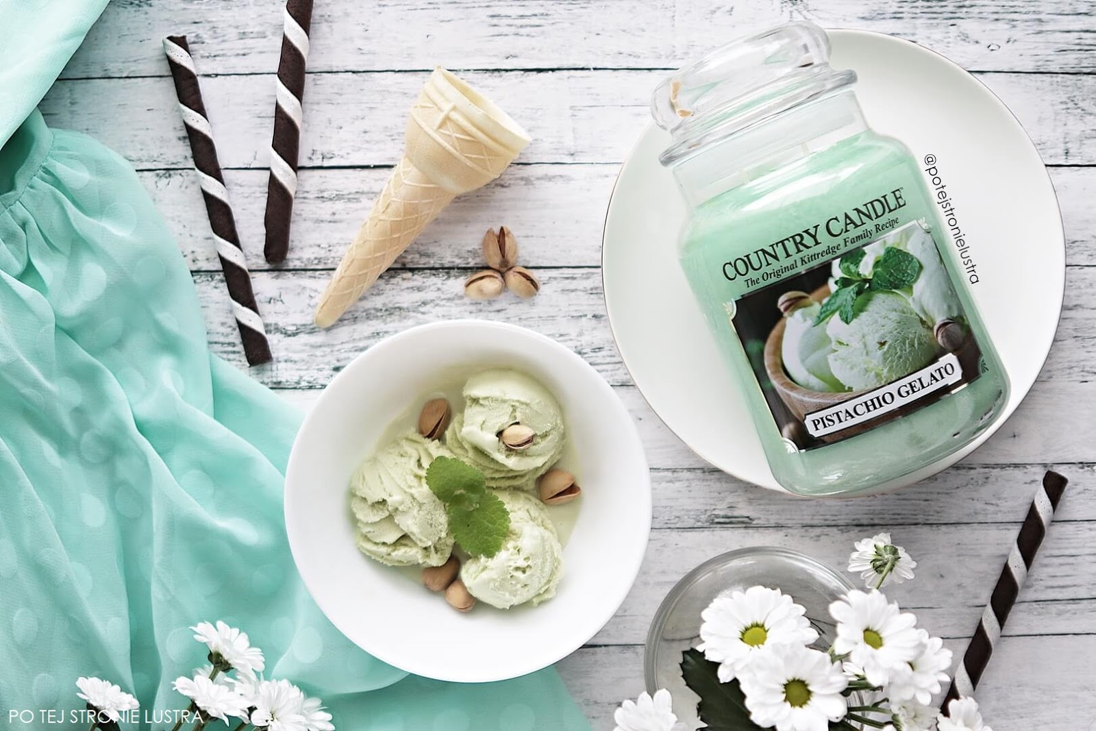 country candle pistachio gelato blog