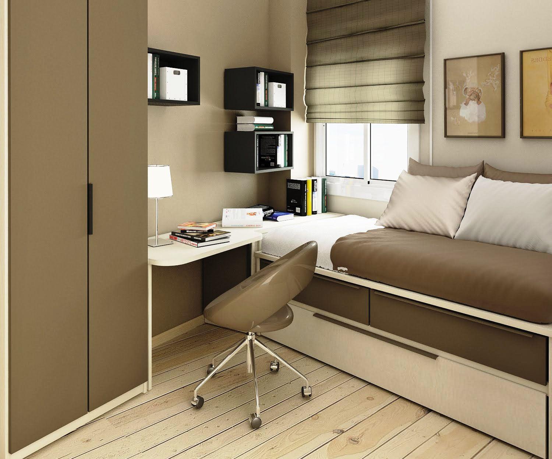 Foto Desain Kamar Tidur Apartemen Ukuran Kecil